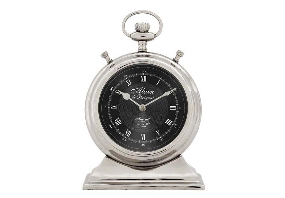 ЧасыНастольные часы<br>Clock Alain De Brignac Large - часы настольные. &amp;lt;span style=&amp;quot;line-height: 24.9999px;&amp;quot;&amp;gt;Механизм часов - кварцевый.&amp;lt;/span&amp;gt;<br><br>Material: Металл<br>Высота см: 31