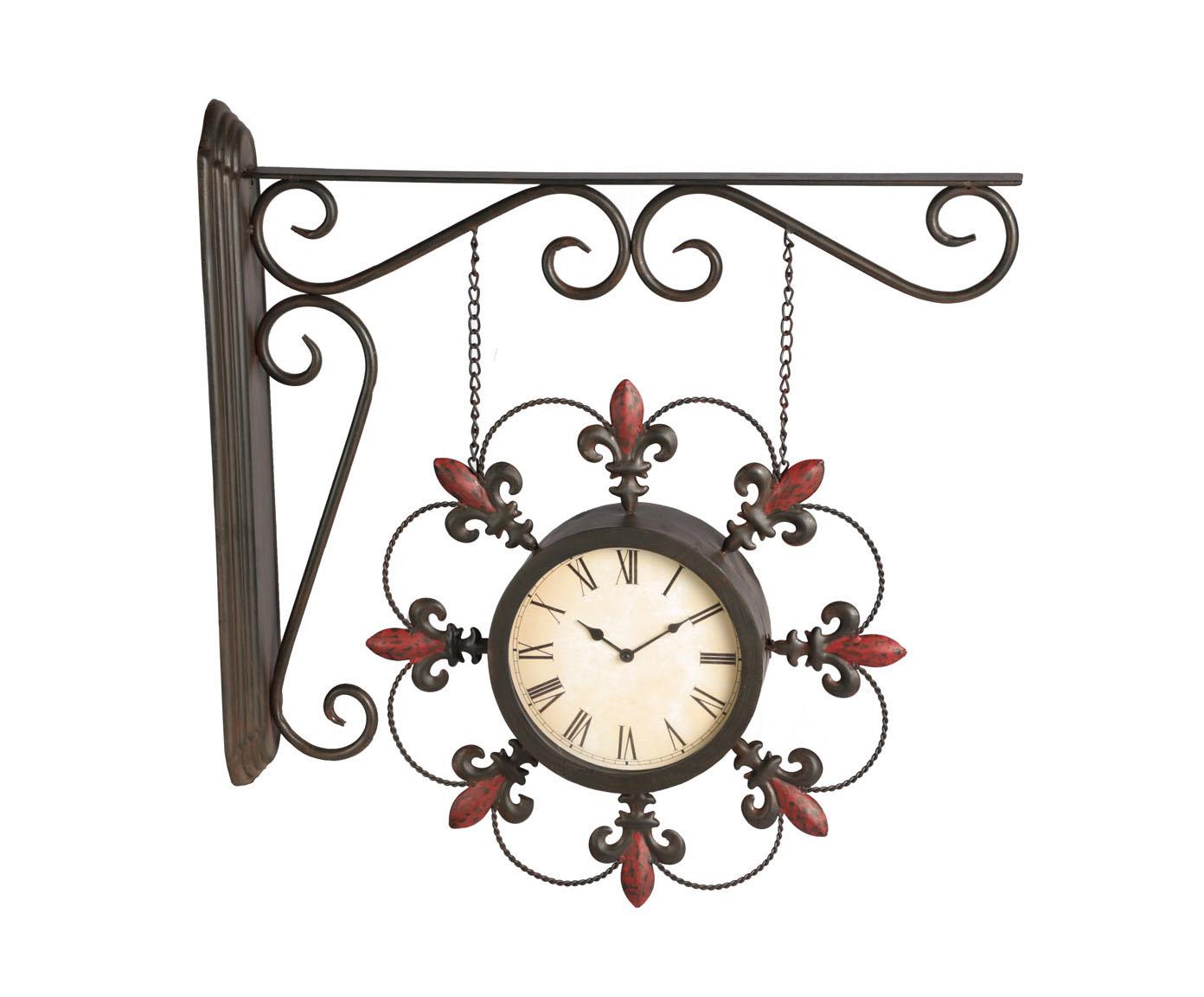 Часы настенныеНастенные часы<br>Кварцевый механизм, работают от батарейки типа АА.<br><br>Material: Металл<br>Width см: 69,5<br>Depth см: 9,5<br>Height см: 64