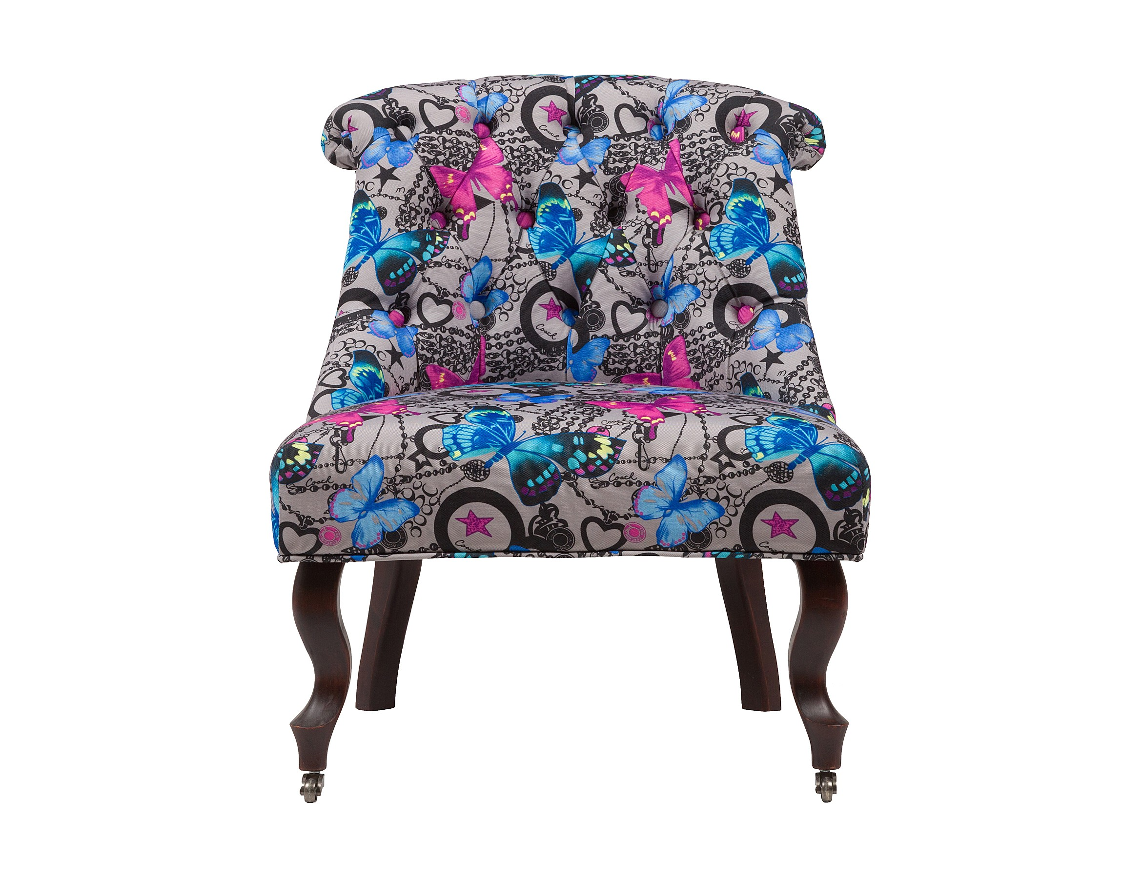 Кресло Amelie French Country ChairПолукресла<br><br><br>Material: Текстиль<br>Width см: 69<br>Depth см: 64<br>Height см: 76