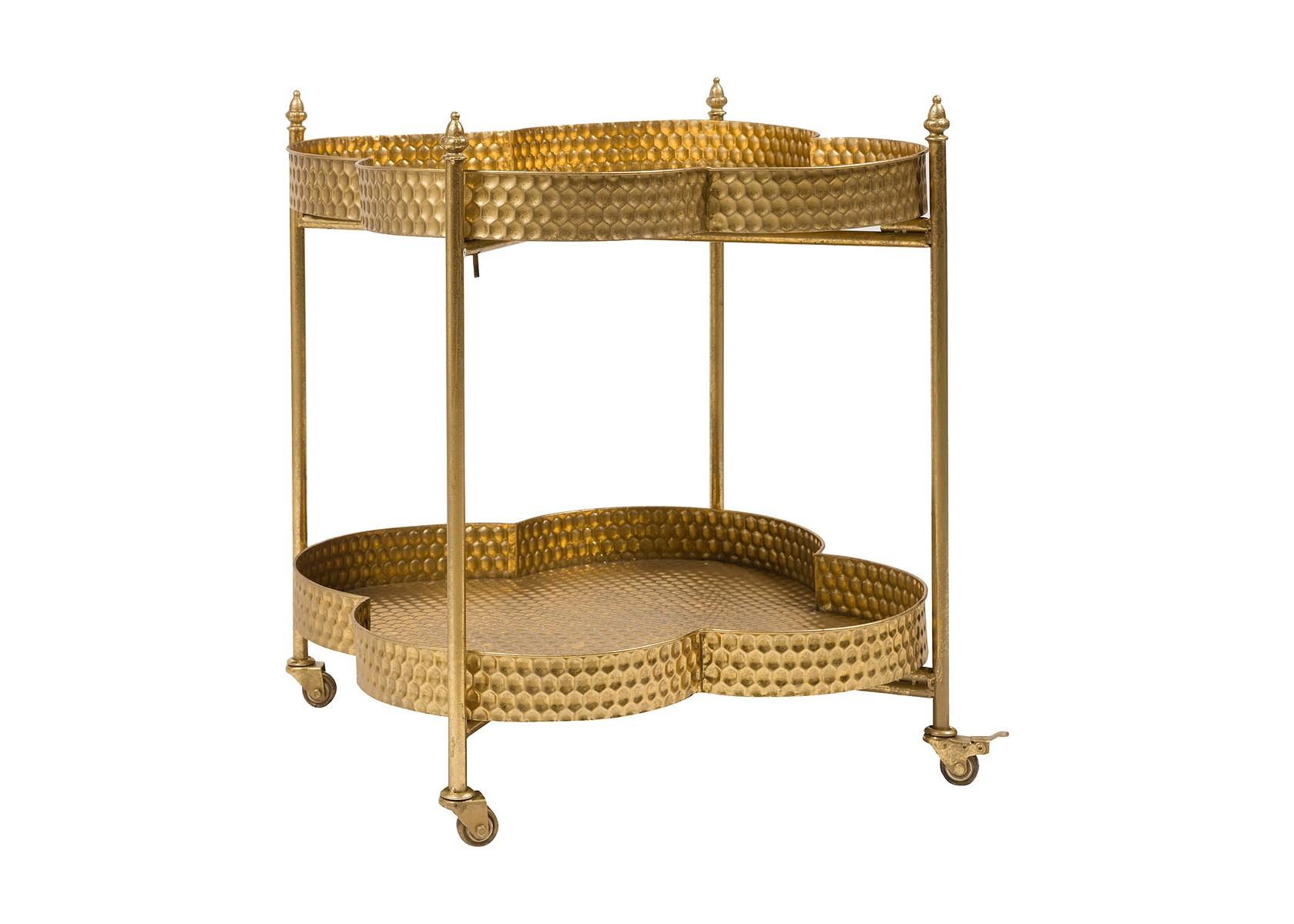 Сервировочный столик CloverСервировочные столики<br><br><br>Material: Металл<br>Width см: 64<br>Depth см: 64<br>Height см: 72
