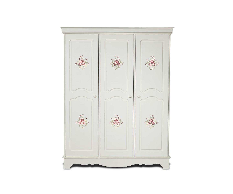 Шкаф Belle Fleur Color? 3Платяные шкафы<br>Отделка: Belle Fleur Color? — орнамент из роз.<br><br>Material: Береза<br>Width см: 160<br>Depth см: 59,5<br>Height см: 201