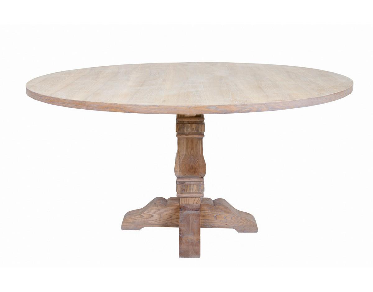 Стол LaganОбеденные столы<br>Красивый обеденный стол Lagan идеально впишется в интерьер вашей столовой. Изящная резная ножка и круглая столешница никого не оставит равнодушным! Роскошный вариант для гостиной.&amp;amp;nbsp;&amp;lt;div&amp;gt;&amp;lt;br&amp;gt;&amp;lt;/div&amp;gt;&amp;lt;div&amp;gt;Материалы: основание из дуба, столешница из МДФ и шпона&amp;lt;/div&amp;gt;<br><br>Material: Дуб<br>Depth см: None<br>Height см: 76<br>Diameter см: 152