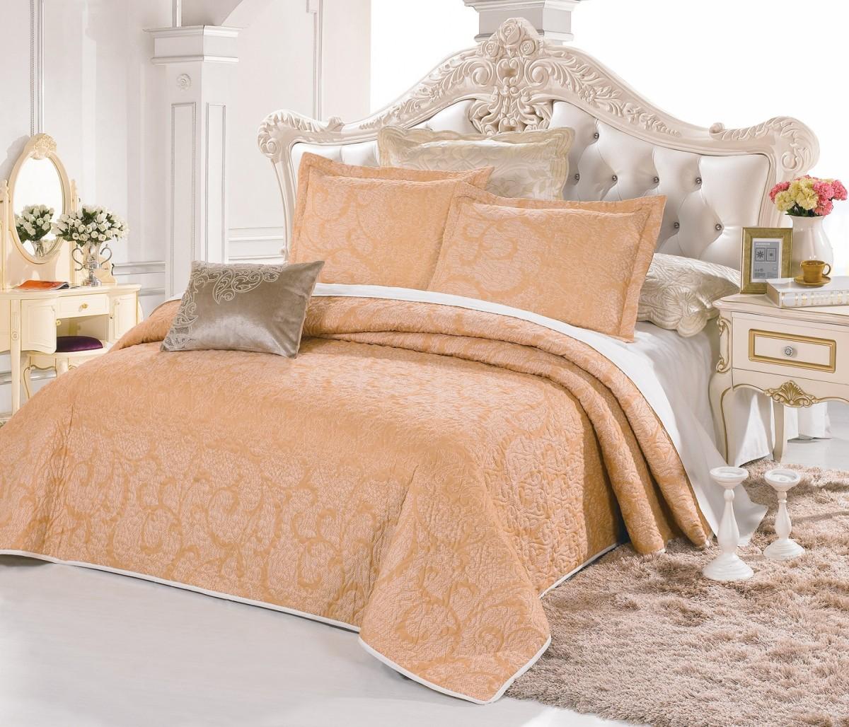 ПокрывалоПокрывала<br>Покрывало на кровать из нежной микрофибры – элегантное, современное, со стильными расцветками прекрасно украсит спальню.&amp;lt;br&amp;gt;&amp;lt;br&amp;gt;&amp;lt;div&amp;gt;В комплект входят покрывало и две наволочки.&amp;lt;/div&amp;gt;&amp;lt;div&amp;gt;Размер покрывала: 250х230 см&amp;lt;/div&amp;gt;&amp;lt;div&amp;gt;Размер наволочки: 70х50 см&amp;lt;/div&amp;gt;<br><br>Material: Текстиль<br>Length см: 250<br>Width см: 230