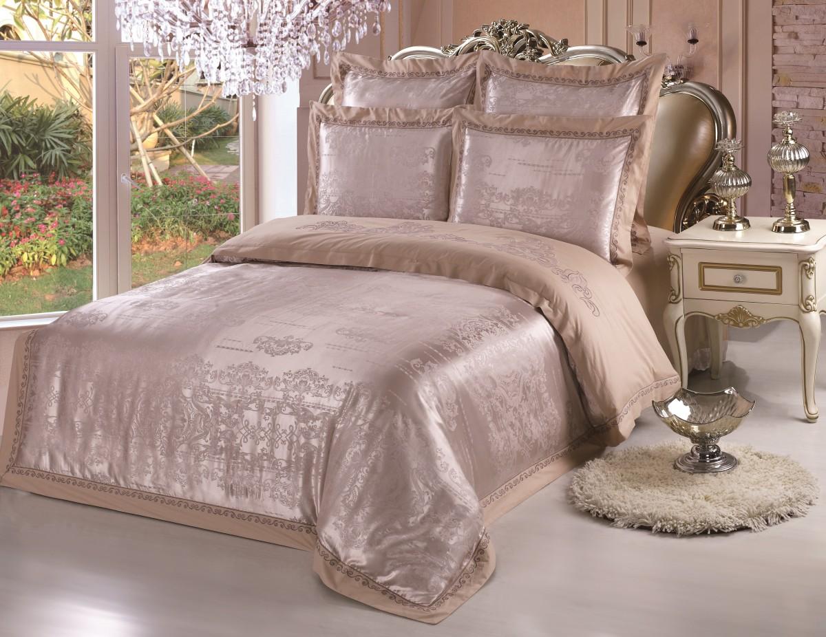 Комплект постельного бельяДвуспальные комплекты постельного белья<br>Роскошное постельное белье для изысканного вкуса.&amp;lt;div&amp;gt;&amp;lt;br&amp;gt;&amp;lt;/div&amp;gt;&amp;lt;div&amp;gt;В комплект входит:&amp;lt;br&amp;gt;&amp;lt;/div&amp;gt;&amp;lt;div&amp;gt;Пододеяльник: 220х200 см (1шт)&amp;amp;nbsp;&amp;lt;/div&amp;gt;&amp;lt;div&amp;gt;Простыня: 230х250 см (1шт)&amp;amp;nbsp;&amp;lt;/div&amp;gt;&amp;lt;div&amp;gt;Наволочки: 50х70 см (2шт); 70х70 см (2шт)&amp;lt;/div&amp;gt;<br><br>Material: Сатин<br>Length см: 220<br>Width см: 200
