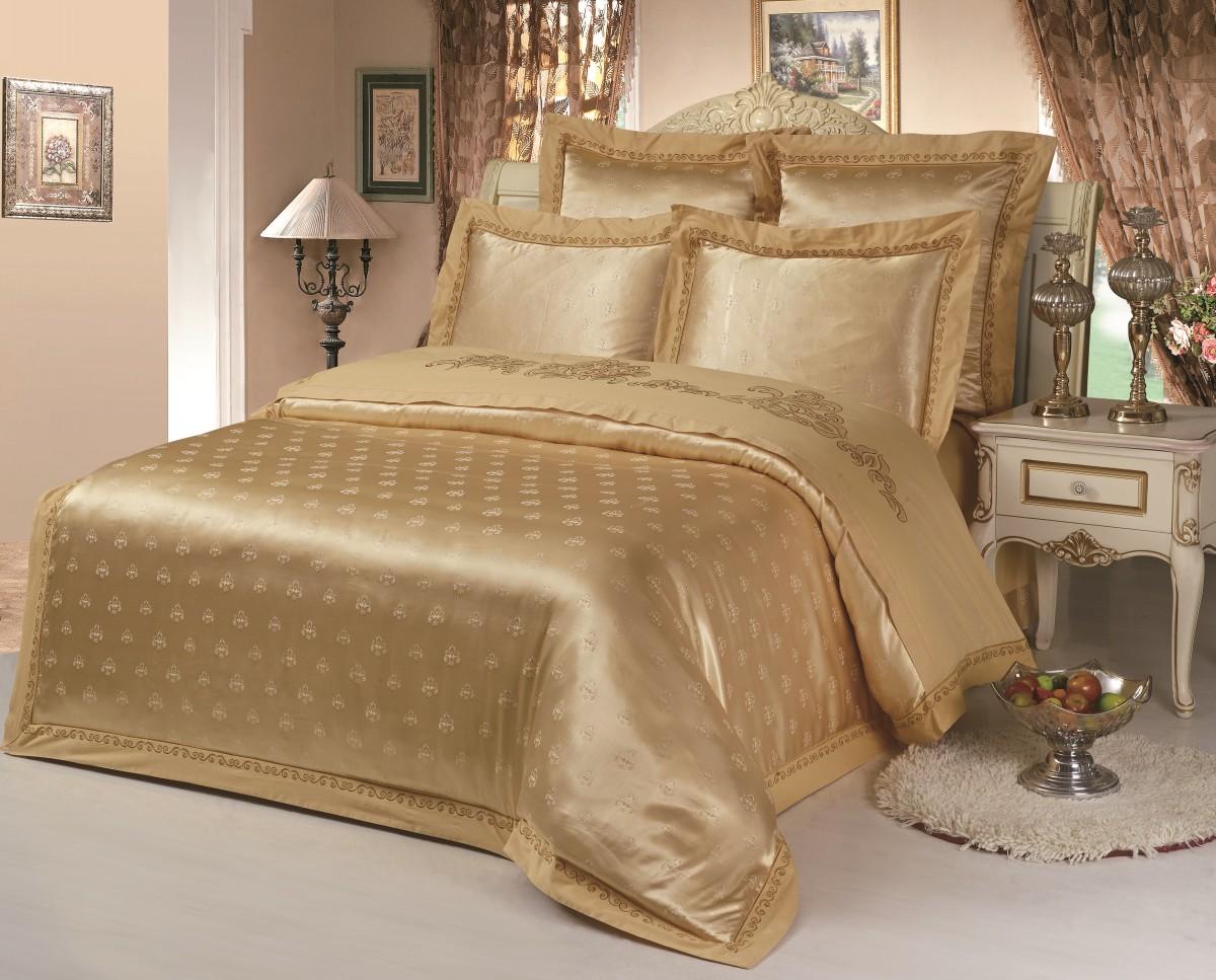 Комплект постельного бельяДвуспальные комплекты постельного белья<br>Роскошное постельное белье для обладателей изысканного вкуса.&amp;amp;nbsp;&amp;lt;div&amp;gt;&amp;lt;br&amp;gt;&amp;lt;/div&amp;gt;&amp;lt;div&amp;gt;В комплект входит:&amp;lt;br&amp;gt;&amp;lt;/div&amp;gt;&amp;lt;div&amp;gt;Пододеяльник: 220х200 см (1шт)&amp;amp;nbsp;&amp;lt;/div&amp;gt;&amp;lt;div&amp;gt;Простыня: 230х250 см (1шт)&amp;amp;nbsp;&amp;lt;/div&amp;gt;&amp;lt;div&amp;gt;Наволочки: 50х70 см (2шт); 70х70 см (2шт)&amp;lt;div&amp;gt;&amp;lt;br&amp;gt;&amp;lt;/div&amp;gt;&amp;lt;/div&amp;gt;<br><br>Material: Сатин<br>Length см: 220<br>Width см: 200