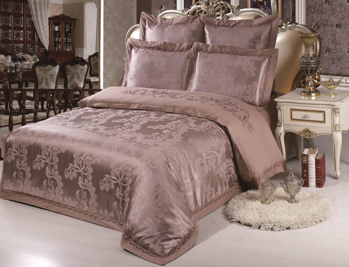 Комплект постельного бельяДвуспальные комплекты постельного белья<br>Роскошное постельное белье для обладателей изысканного вкуса.&amp;amp;nbsp;&amp;lt;div&amp;gt;&amp;lt;br&amp;gt;&amp;lt;/div&amp;gt;&amp;lt;div&amp;gt;В комплект входит:&amp;lt;/div&amp;gt;&amp;lt;div&amp;gt;&amp;lt;div&amp;gt;&amp;lt;span style=&amp;quot;line-height: 1.78571;&amp;quot;&amp;gt;Пододеяльник: 220х200 см (1шт)&amp;amp;nbsp;&amp;lt;/span&amp;gt;&amp;lt;/div&amp;gt;&amp;lt;div&amp;gt;&amp;lt;span style=&amp;quot;line-height: 1.78571;&amp;quot;&amp;gt;Простыня: 230х250 см (1шт)&amp;amp;nbsp;&amp;lt;/span&amp;gt;&amp;lt;/div&amp;gt;&amp;lt;div&amp;gt;&amp;lt;span style=&amp;quot;line-height: 1.78571;&amp;quot;&amp;gt;Наволочки: 50х70 см (2шт); 70х70 см (2шт)&amp;lt;/span&amp;gt;&amp;lt;br&amp;gt;&amp;lt;/div&amp;gt;&amp;lt;/div&amp;gt;<br><br>Material: Сатин<br>Length см: 220<br>Width см: 200