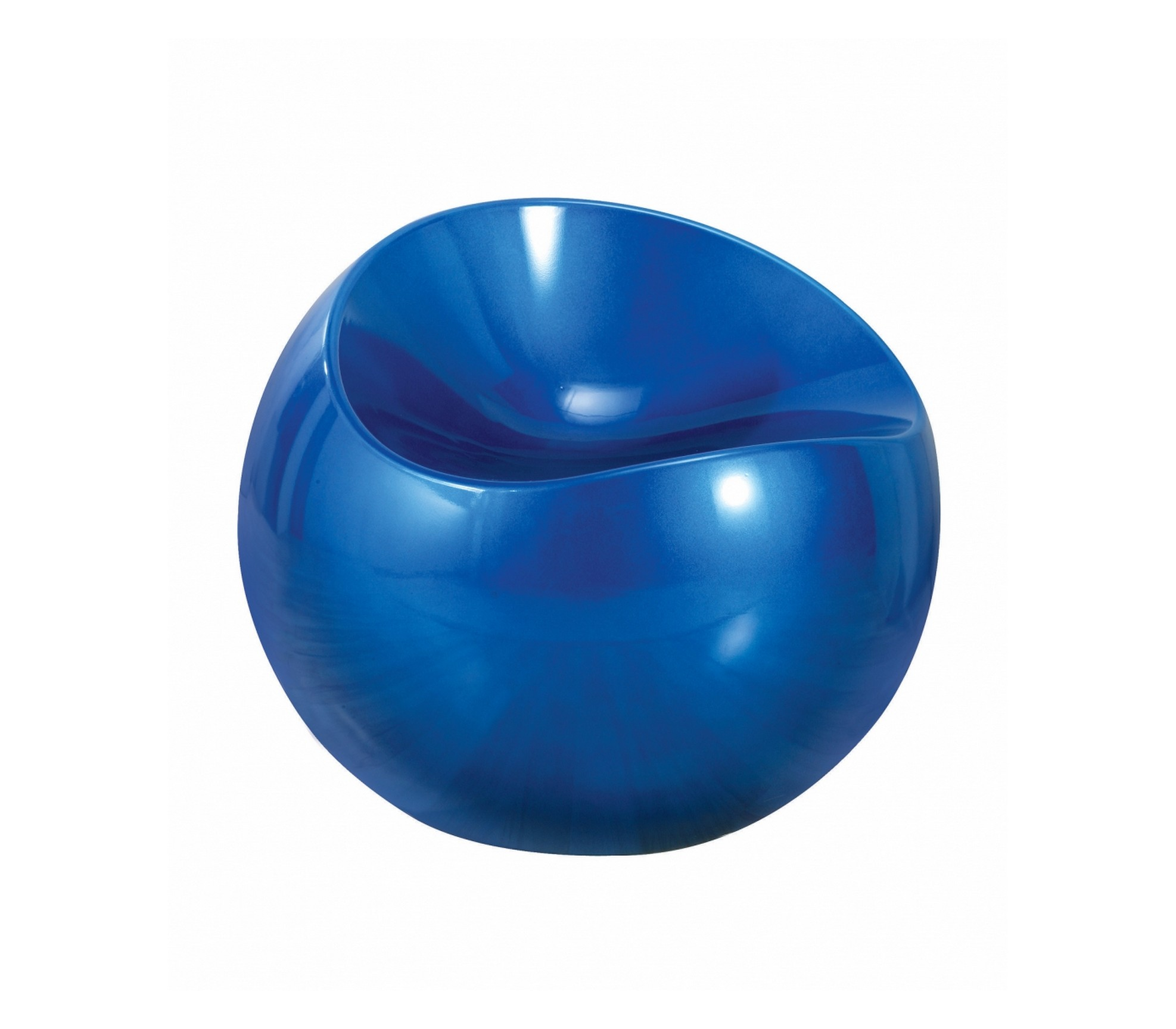 Кресло Синие каплиИнтерьерные кресла<br>Стул &amp;quot;Синие капли&amp;quot; идеально впишется в современный футуристический интерьер и станет ярким акцентом в доме.<br>Стул выполнен из высококачественного пластизоля.<br>Монтаж не требуется.<br><br>Material: Пластик<br>Height см: 48<br>Diameter см: 58