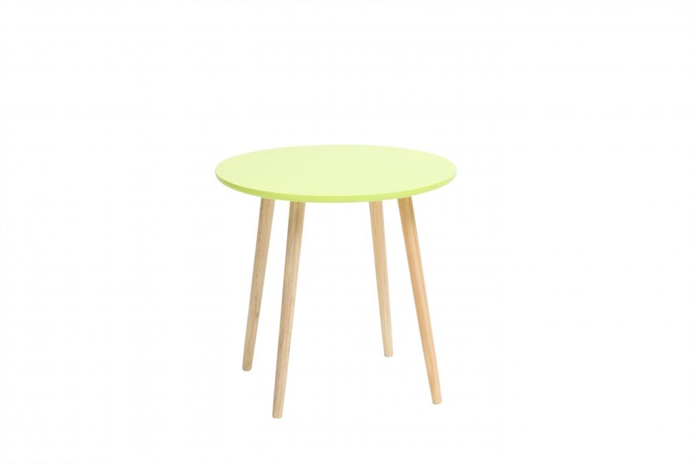 Кофейный столик SummerКофейные столики<br>Прекрасный вариант сочетания стильного дизайна в стиле &amp;quot;модерн&amp;quot; и функционального предмета интерьера - кофейный столик &amp;quot;Summer&amp;quot;.<br>Столик сделан из дерева и МДФ.<br>Монтаж не требуется.<br><br>Material: Дерево<br>Height см: 45<br>Diameter см: 48