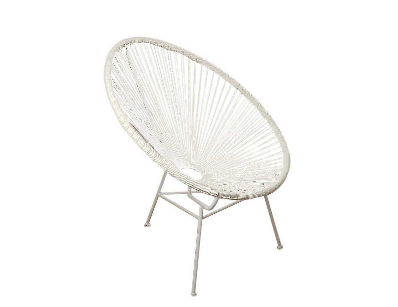 Кресло EddyКресла для улицы<br>Кресло &amp;quot;Eddy&amp;quot; отвечает всем ультрамодным тенденциям 2016 года. Элегантность и функциональность ? это идеальное сочетание объединилось при создании данного  кресла. Кресло можно использовать как в помещении, так и в саду.<br><br>Material: Металл<br>Width см: 72<br>Depth см: 83<br>Height см: 89