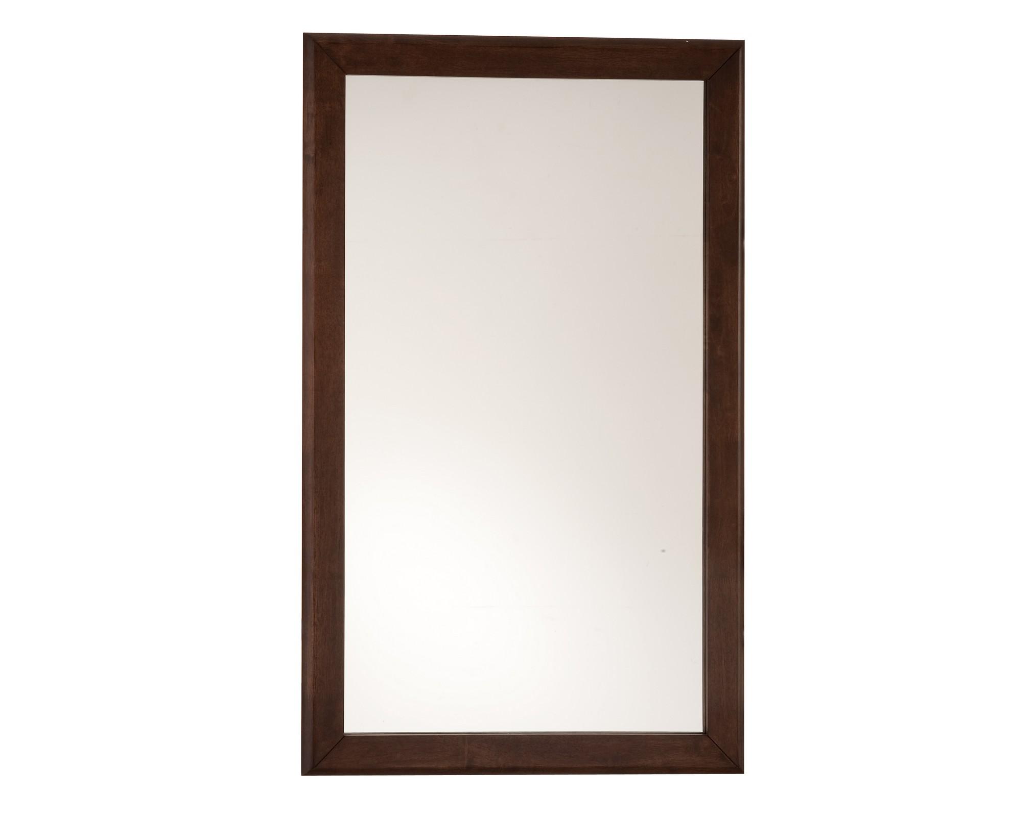 Зеркало БудущееНастенные зеркала<br>Зеркало &amp;quot;Будущее&amp;quot; визуально сделает комнату просторнее и светлее. Зеркало отлично впишется в строгий и выдержанный интерьер.<br>Рама выполнена из дерева.<br><br>Material: Дерево<br>Width см: 75<br>Depth см: 2<br>Height см: 120
