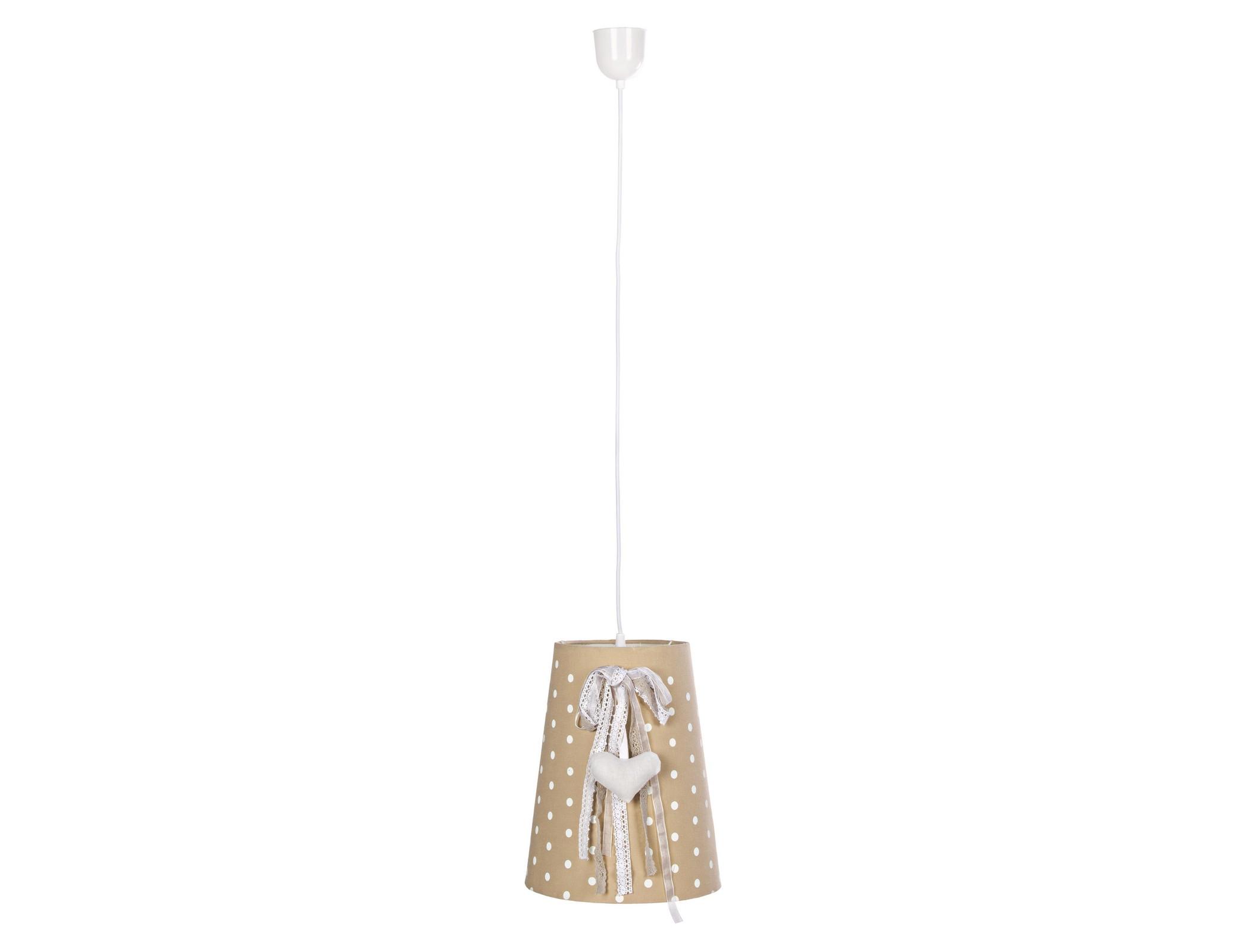 Люстра BonbonПодвесные светильники<br>Люстра &amp;quot;Bonbon&amp;quot; станет прекрасным стилистическим дополнением современного интерьера, создаст атмосферу уюта и комфорта. <br>Кабель данной лампы выполнен из окрашенного металла.&amp;amp;nbsp;&amp;lt;div&amp;gt;&amp;lt;br&amp;gt;&amp;lt;/div&amp;gt;&amp;lt;div&amp;gt;Вид цоколя: Е27&amp;lt;/div&amp;gt;&amp;lt;div&amp;gt;Мощность лампы: 60W&amp;lt;/div&amp;gt;&amp;lt;div&amp;gt;Количество ламп: 1&amp;lt;/div&amp;gt;&amp;lt;div&amp;gt;Наличие ламп: нет&amp;lt;/div&amp;gt;&amp;lt;div&amp;gt;&amp;lt;br&amp;gt;&amp;lt;/div&amp;gt;<br><br>Material: Лен<br>Height см: 31,5<br>Diameter см: 26