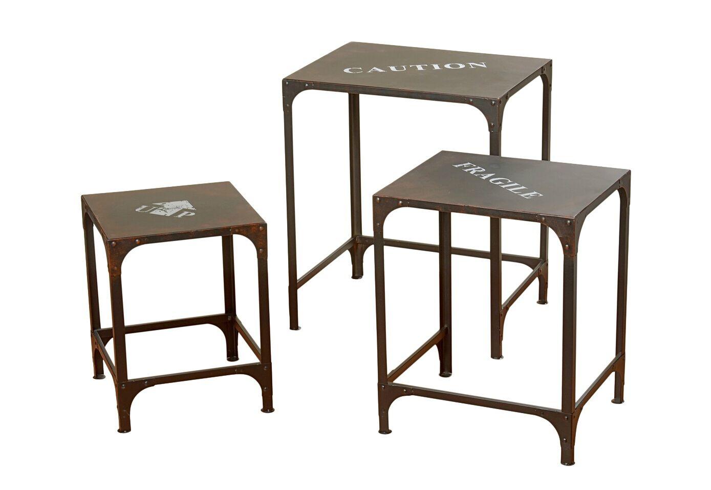 Набор из трех столиков PrintПриставные столики<br>Набор из 3-х столиков  &amp;quot;Print&amp;quot; добавят Вашему дому яркости и оригинальности.&amp;amp;nbsp;&amp;lt;div&amp;gt;&amp;lt;br&amp;gt;&amp;lt;/div&amp;gt;&amp;lt;div&amp;gt;Размеры большого столика: высота 65,5, длина 55,5, ширина 45,5;&amp;amp;nbsp;&amp;lt;/div&amp;gt;&amp;lt;div&amp;gt;Размеры среднего столика: высота 55,5, длина 45,5, ширина 38,5;&amp;amp;nbsp;&amp;lt;/div&amp;gt;&amp;lt;div&amp;gt;Размеры маленького столика: высота 46, длина 35,5, ширина 35,5.&amp;lt;br&amp;gt;&amp;lt;/div&amp;gt;<br><br>Material: Металл<br>Width см: 55,5<br>Depth см: 45,5<br>Height см: 65,5
