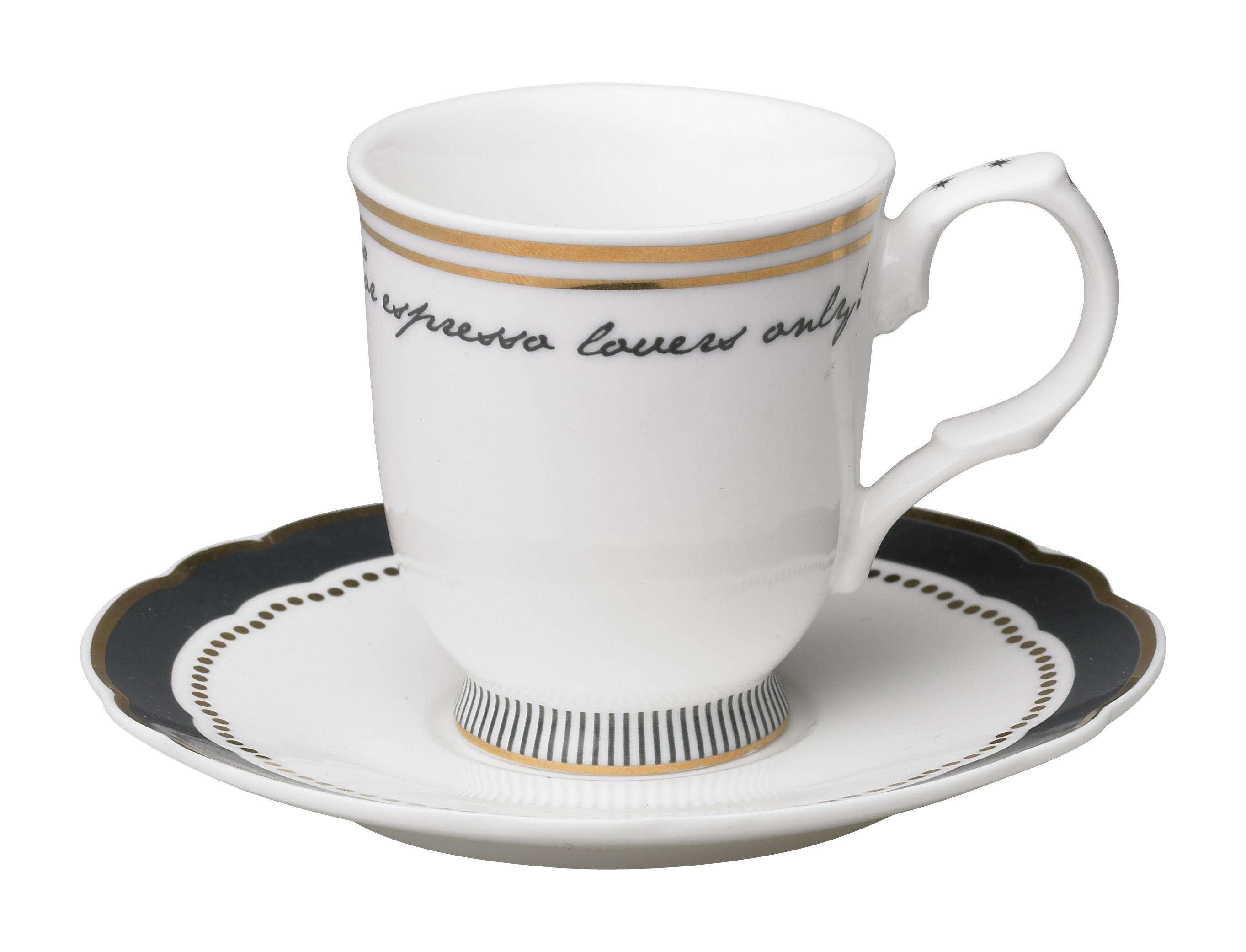 Набор из двух чашек для эспрессо