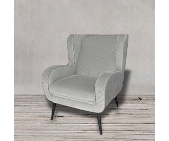 Кресло МимозаИнтерьерные кресла<br><br><br>Material: Лен<br>Width см: 75<br>Depth см: 86<br>Height см: 96