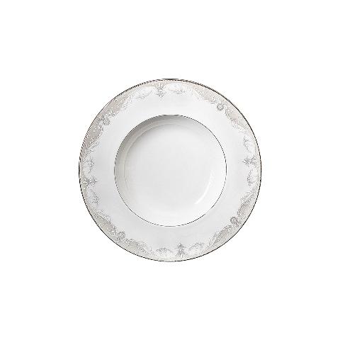 Тарелка глубокаяТарелки<br>MIKASA по праву считается одним из мировых лидеров по производству столовой посуды из фарфора и керамики. На протяжении более полувека категории качества и дизайна являются неотъемлемой частью бренда MIKASA.<br><br>Material: Фарфор<br>Depth см: None<br>Height см: 3<br>Diameter см: 24