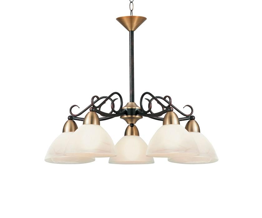 Светильник подвеснойЛюстры подвесные<br>&amp;lt;div&amp;gt;Цоколь: E27&amp;lt;/div&amp;gt;&amp;lt;div&amp;gt;Мощность лампы: 60W&amp;lt;/div&amp;gt;&amp;lt;div&amp;gt;Количество ламп: 5&amp;lt;/div&amp;gt;<br><br>Material: Стекло<br>Height см: 48<br>Diameter см: 59