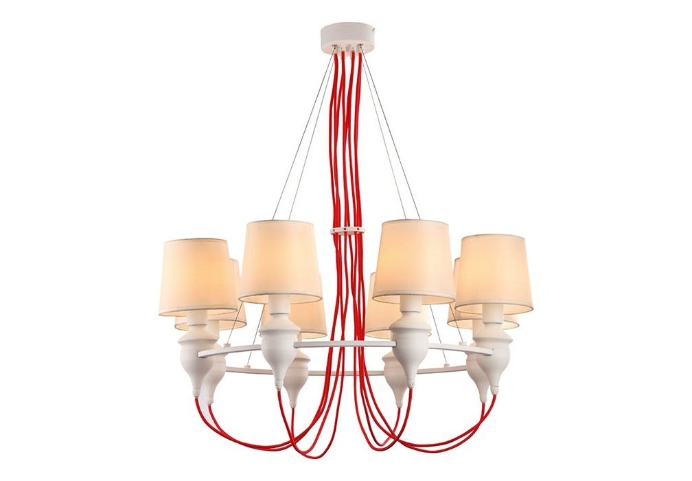 Светильник подвеснойЛюстры подвесные<br>&amp;lt;div&amp;gt;Цоколь: E14&amp;lt;/div&amp;gt;&amp;lt;div&amp;gt;Мощность лампы: 40W&amp;lt;/div&amp;gt;&amp;lt;div&amp;gt;Количество ламп: 8&amp;lt;/div&amp;gt;<br><br>Material: Металл<br>Высота см: 100