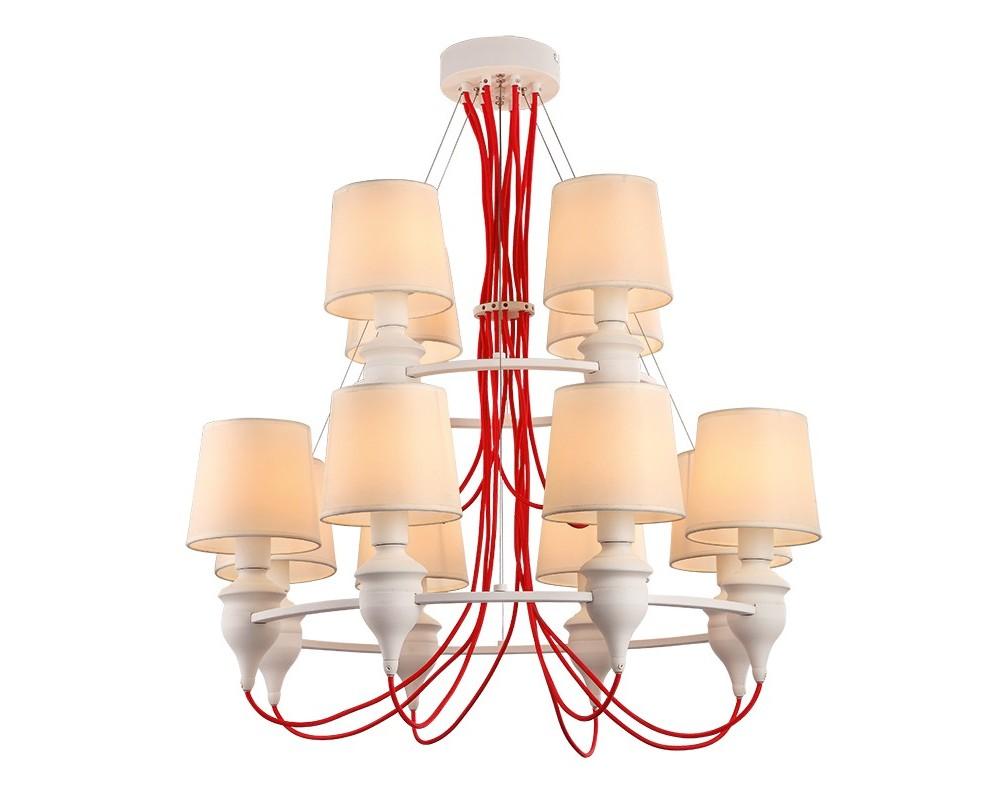 Светильник подвеснойЛюстры подвесные<br>&amp;lt;div&amp;gt;Цоколь: E14&amp;lt;/div&amp;gt;&amp;lt;div&amp;gt;Мощность лампы: 40W&amp;lt;/div&amp;gt;&amp;lt;div&amp;gt;Количество ламп: 12&amp;lt;/div&amp;gt;<br><br>Material: Металл<br>Height см: 100<br>Diameter см: 81