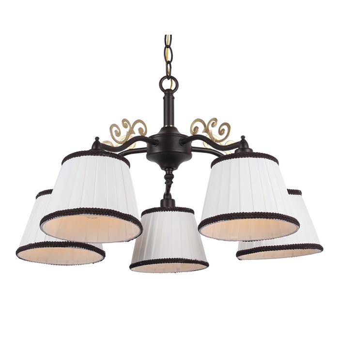 Светильник подвеснойЛюстры подвесные<br>&amp;lt;div&amp;gt;Цоколь: E14&amp;lt;/div&amp;gt;&amp;lt;div&amp;gt;Мощность лампы: 40W&amp;lt;/div&amp;gt;&amp;lt;div&amp;gt;Количество ламп: 5&amp;lt;/div&amp;gt;<br><br>Material: Металл<br>Height см: 31<br>Diameter см: 55