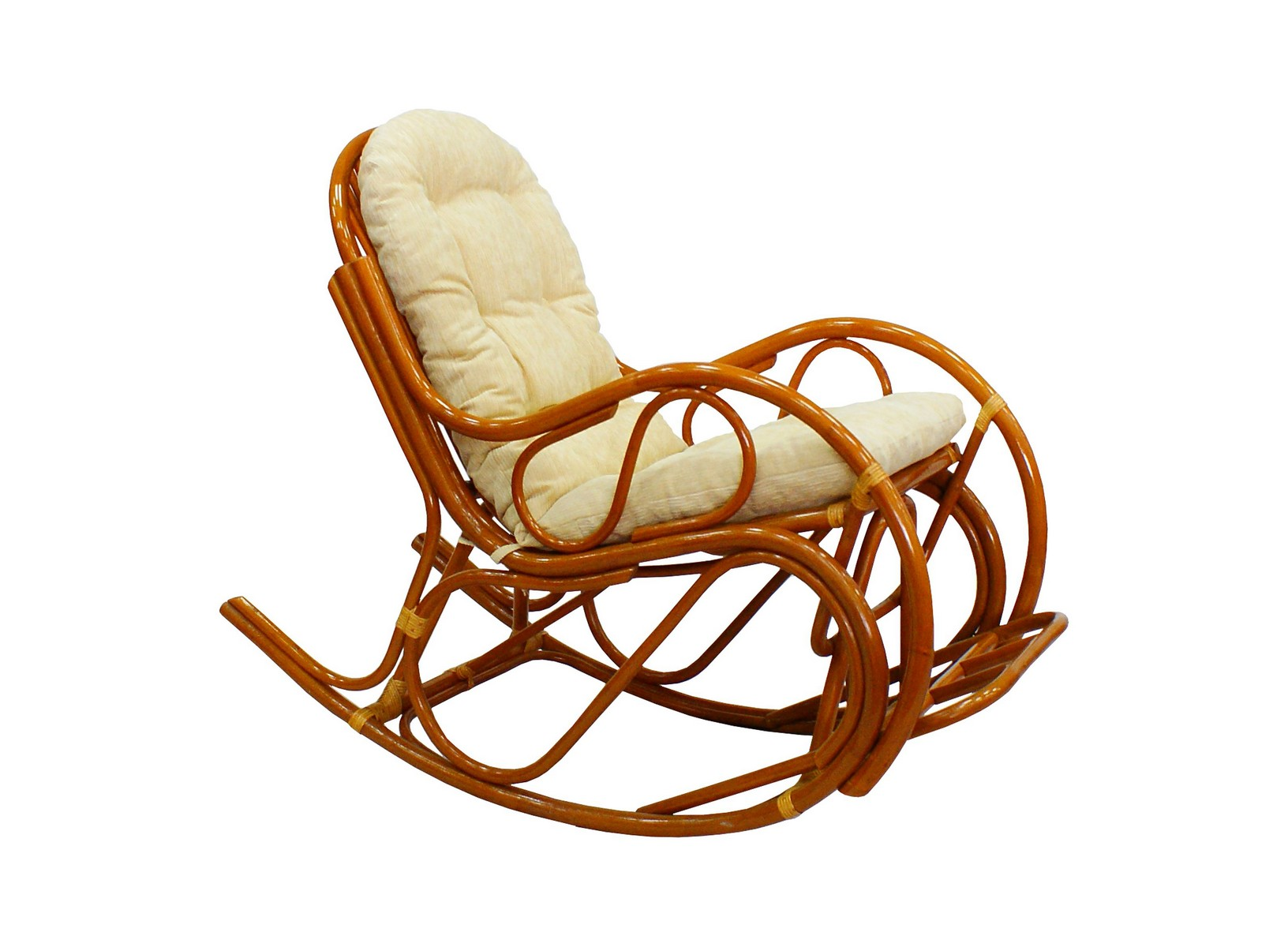 Кресло-качалка с подножкой