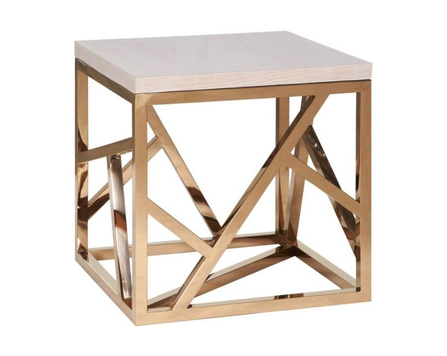 Стол журнальныйЖурнальные столики<br>Элементы конструктивизма вот уже полвека не оставляют умы дизайнеров. Они придумывают моднейшие модели, сочетая сплетение хаотичных и строгих металлических линий с новейшими материалами и деревом. Этот стол – великолепный представитель современного мебельного искусства – будет ярким украшением гостиной. Какой бы мебелью Вы ни решили окружить Fittings, он (она) гармонично подстроится и внесет в интерьер нотку постмодерна.<br><br>Material: Металл<br>Ширина см: 60<br>Высота см: 60<br>Глубина см: 60