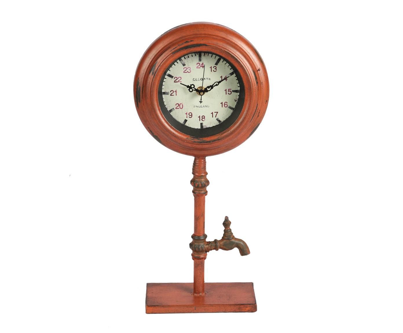 Часы настольныеНастольные часы<br>Кварцевый механизм, работают от батарейки типа АА.<br><br>Material: Металл<br>Width см: 20<br>Depth см: 8,5<br>Height см: 42,5