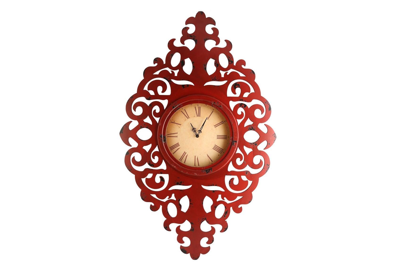 Часы настенныеНастенные часы<br>Кварцевый механизм, работают от батарейки типа АА.<br><br>Material: Металл<br>Width см: 64<br>Depth см: 6<br>Height см: 100