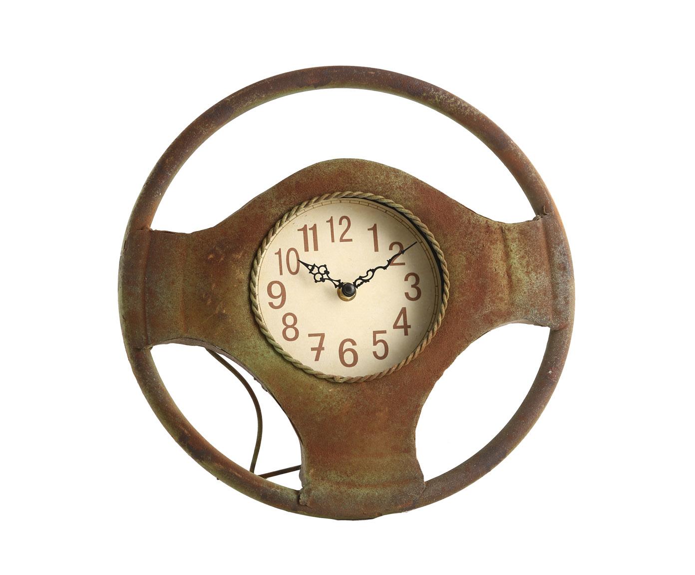 Часы настольныеНастольные часы<br>&amp;lt;span style=&amp;quot;line-height: 24.9999px;&amp;quot;&amp;gt;Кварцевый механизм, работают от батарейки типа АА.&amp;lt;/span&amp;gt;<br><br>Material: Металл<br>Width см: 32<br>Depth см: 5<br>Height см: 34