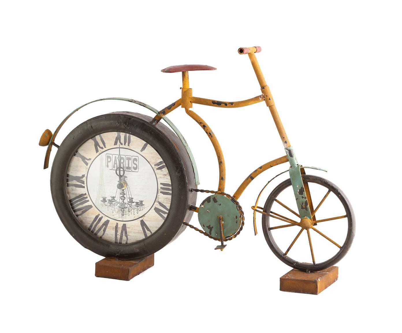 Часы настольныеНастольные часы<br>Кварцевый механизм, работают от батарейки типа АА<br><br>Material: Металл<br>Width см: 54<br>Depth см: 11<br>Height см: 37