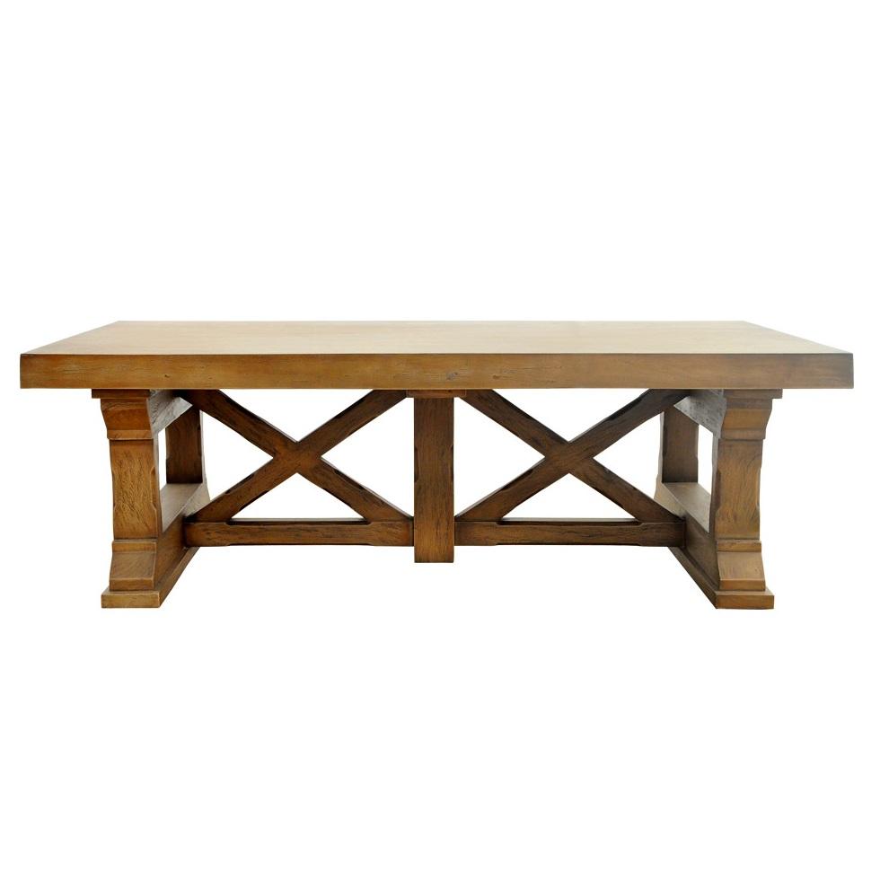 Кофейный столик Preston Coffee TableЖурнальные столики<br><br><br>Material: Дерево<br>Ширина см: 140<br>Высота см: 46<br>Глубина см: 74