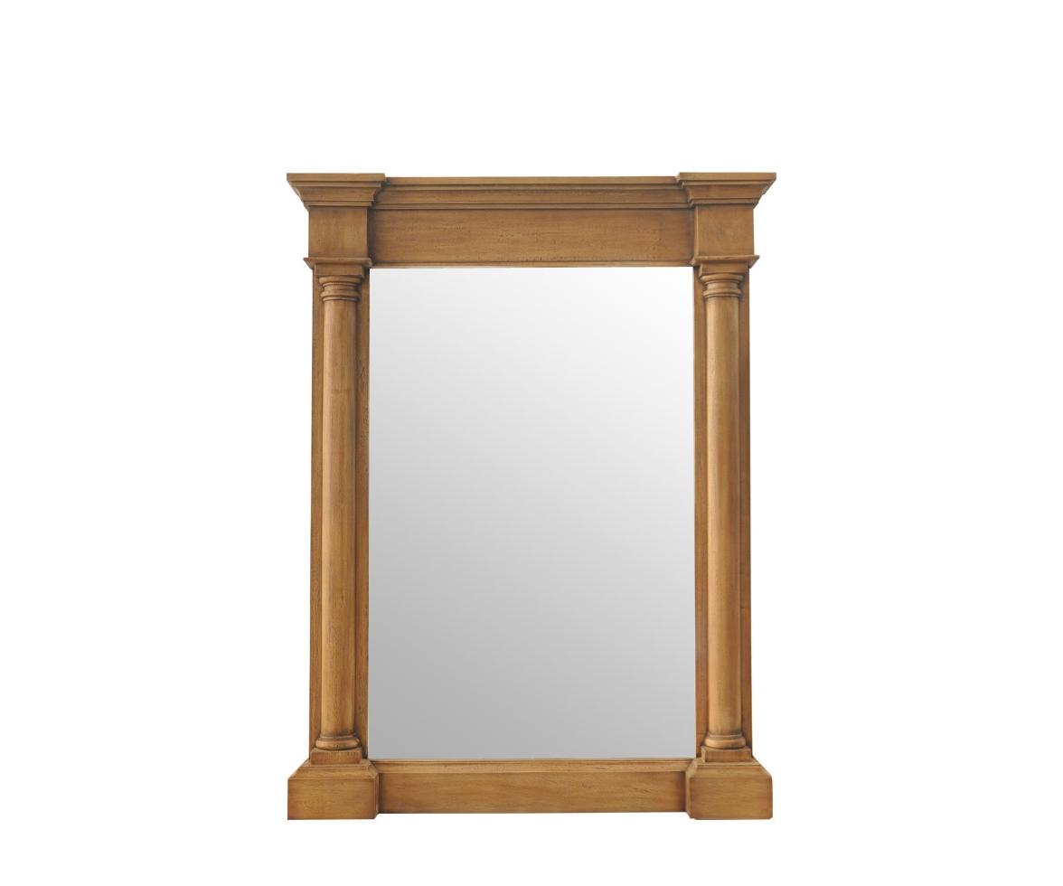 Зеркало Rachel Short MirrorНастенные зеркала<br><br><br>Material: Дерево<br>Width см: 100<br>Depth см: 13<br>Height см: 130