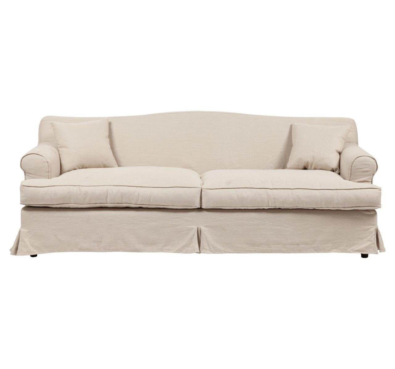 Диван FernandoТрехместные диваны<br>Современному интерьеру необходима соответствующая мебель, готовая предстать не только как вместилище красоты, но для идеального сидения, при этом, не искривляя осанки и помогая убрать тяжесть со спины. С диваном Fernando ваша комната примет совершенно иные очертания, где воцарятся дух и удовольствия, и деловых занятий. Достаточно тяжел, но, в то же время, мягок, способствуя расслаблению; после каждого вставания он легко возвращает свою форму, что позволяет его долго эксплуатировать. Не конфликтен в обращении, для уборки не требует повышенного внимания, легко чистится, пружинист, не способствует развитию заболеваний и впишется под любую планировку. Дизайн дивана Fernando — от знаменитого итальянского дизайнера Пьера Лиссони (Piero Lissoni).<br><br>Material: Лен<br>Width см: 235<br>Depth см: 85<br>Height см: 85
