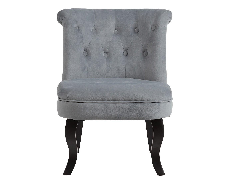 Кресло DawsonПолукресла<br>Кресло Dawson — неимоверно комфортное, удобное и красивое — выглядит так, словно вам его только что доставили из роскошного дома аристократической Франции. Богатая обивка, благородная форма деревянного каркаса самого предмета мебели, изящные ножки, нежный цвет — все говорит о его изысканности и шарме. Такое кресло непременно украсит ваш дом, добавив не только очарование и лоск, но и уют и тепло.<br><br>Material: Велюр<br>Width см: 56<br>Depth см: 63<br>Height см: 73