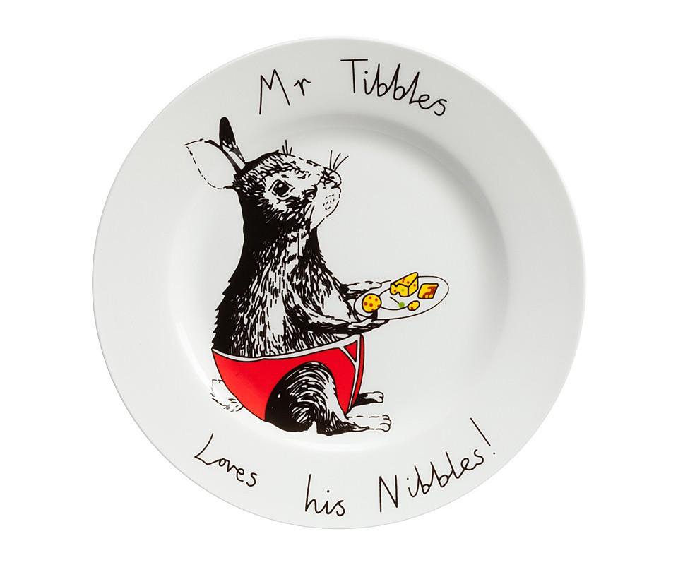 Тарелка Mr TibblesТарелки<br><br><br>Material: Фарфор<br>Height см: 1,7<br>Diameter см: 21