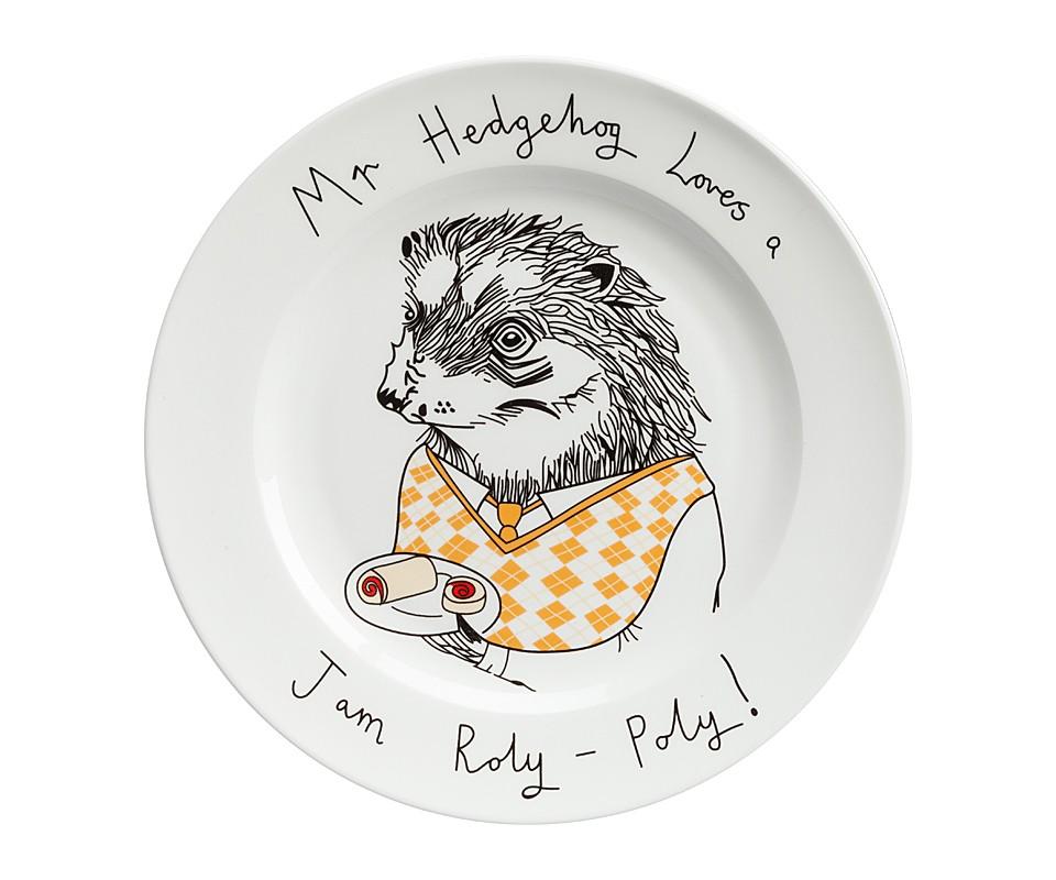 Тарелка Mr HedgehogТарелки<br><br><br>Material: Фарфор<br>Высота см: 1