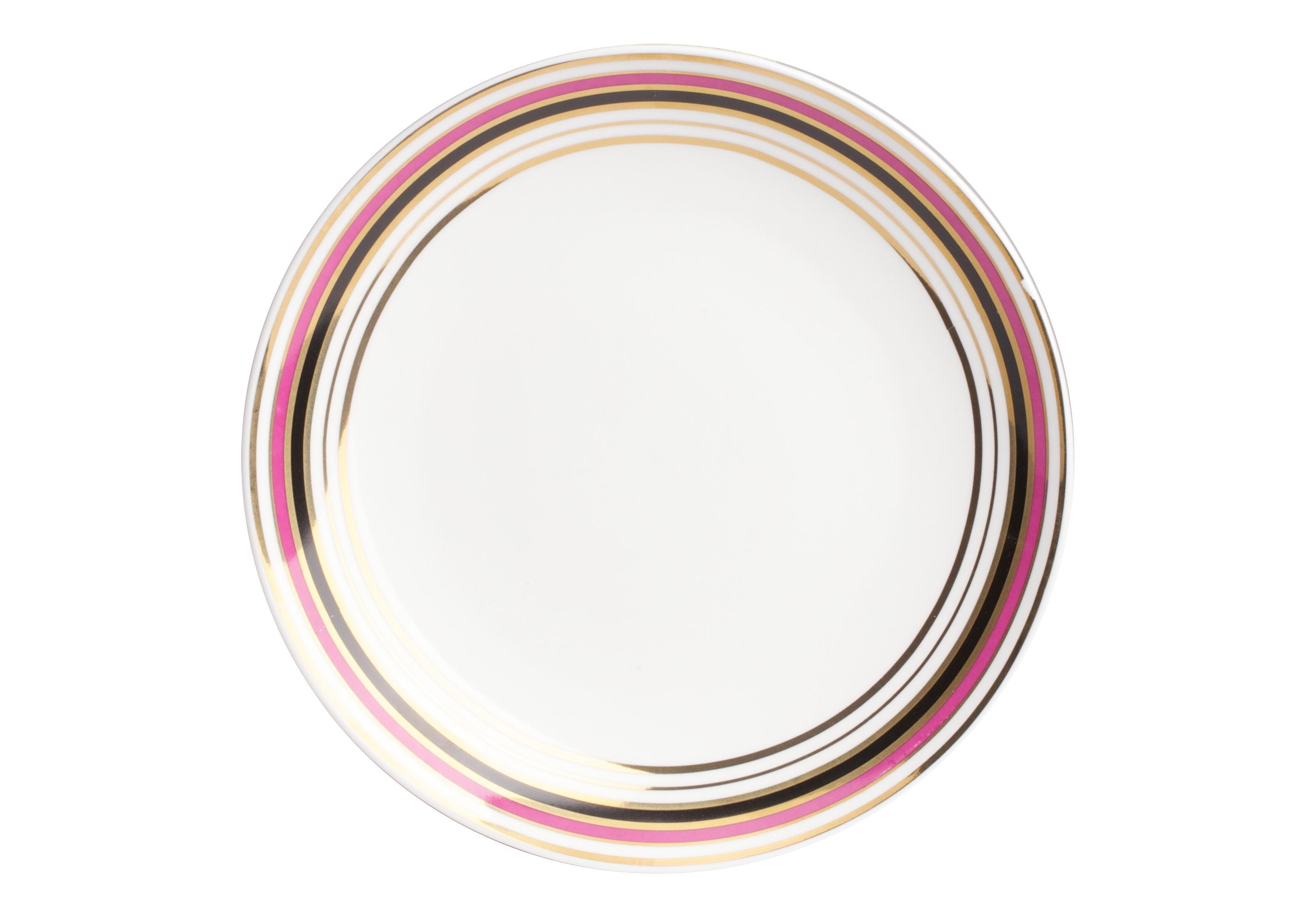 Тарелка EclecticТарелки<br>Тарелка Eclectic II из грубой керамики декорирована многоцветным орнаментом в виде окантовки по краю тарелки. Дно тарелки остаётся белым. Стиль эклектик в переводе означает — выбираю. Поэтому тарелка, разная по художественному смыслу, но изготовленная в одной цветовой гамме, прекрасно сочетаясь с блюдом Eclectic II, представленным в нашем интернет-магазине, создадут уникальную сервировку стола.<br><br>Material: Керамика<br>Height см: 2<br>Diameter см: 20
