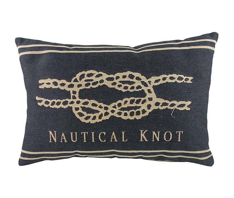 Подушка с морским узлом