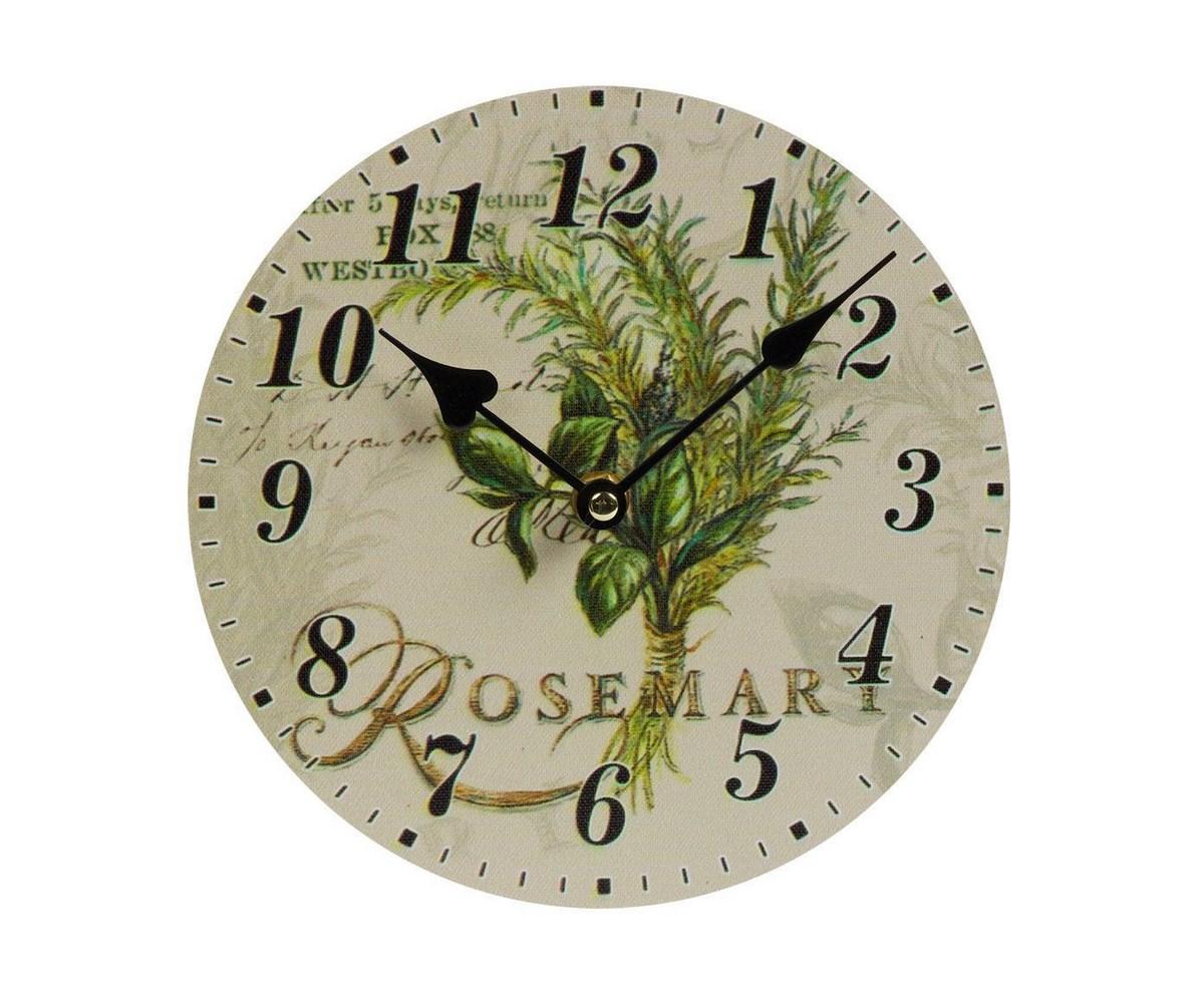 Настенные часы RosemaryНастенные часы<br>Настенные часы Rosemary — это изысканный элемент декора стен вашего дома, оформленного в стиле Прованс. Благодаря краскам пастельных тонов, оригинальному рисунку и простому на вид циферблату, такой аксессуар удачно впишется в общую картину помещения и будет прекрасно гармонировать с обстановкой в целом. Часы смогут добавить уюта любой комнате, а также оживить её и украсить.&amp;amp;nbsp;&amp;lt;span style=&amp;quot;line-height: 24.9999px;&amp;quot;&amp;gt;Кварцевый механизм.&amp;lt;/span&amp;gt;&amp;lt;div&amp;gt;&amp;lt;br&amp;gt;&amp;lt;/div&amp;gt;&amp;lt;div&amp;gt;Материал:&amp;amp;nbsp;МДФ, Бумага.&amp;lt;br&amp;gt;&amp;lt;/div&amp;gt;<br><br>Material: МДФ<br>Глубина см: 1