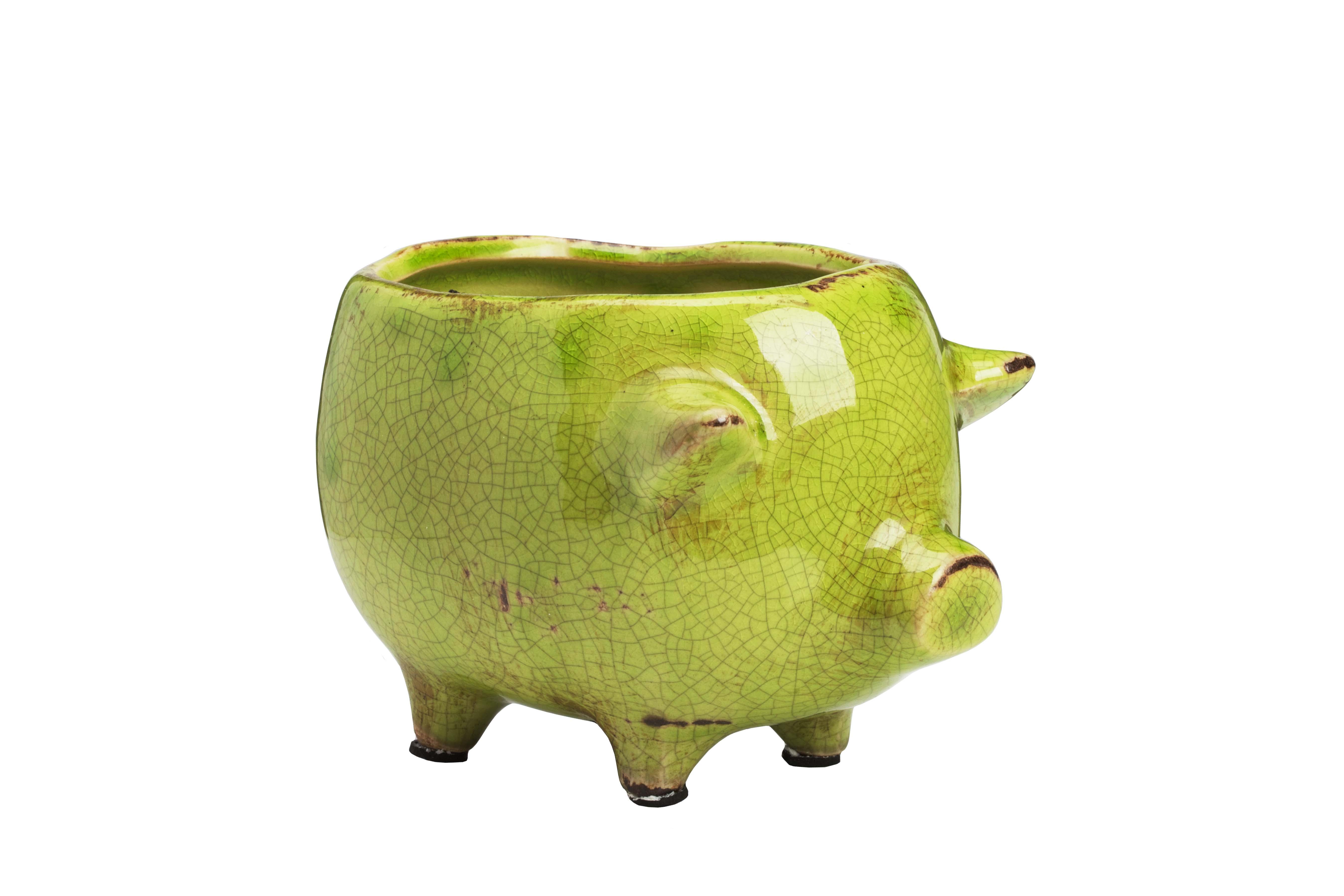 DG Цветочный горшок Pig Planter кашпо для цветов ive planter keter 17196813
