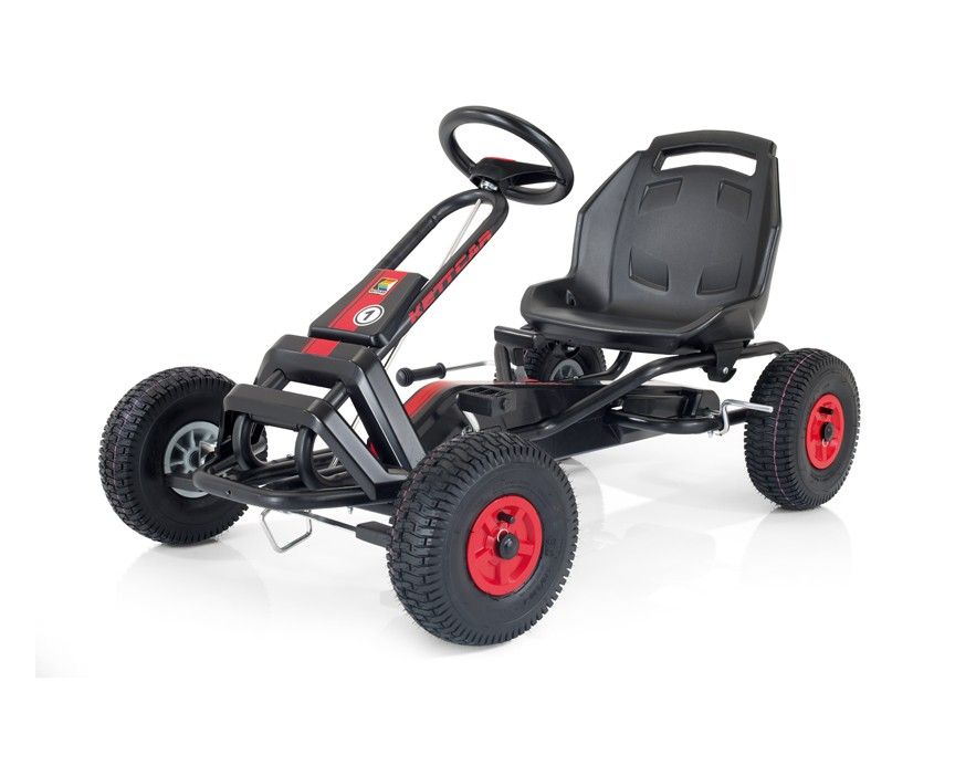 Кетткар «Barcelona»Детские домики<br>Детская педальная машинка. Оснащена высокопрочной стальной рамой с антикорозионным, порошковым, невыгорающим полиэстеровым покрытием. Спортивные надувные колёса с широким профилем и спортивными дисками. Удобное, передвигаемое по раме под длину ног пластмассовое сиденье. Отключение педалей от колёс для безопасности при толкании кетткара с сидящим в нём ребёнком. Ручной тормоз действующий на оба задних колеса&amp;amp;nbsp;&amp;lt;div&amp;gt;&amp;lt;br&amp;gt;&amp;lt;/div&amp;gt;&amp;lt;div&amp;gt;Материалы: сталь, пластик&amp;lt;/div&amp;gt;<br><br>Material: Пластик<br>Width см: 125<br>Depth см: 72<br>Height см: 67