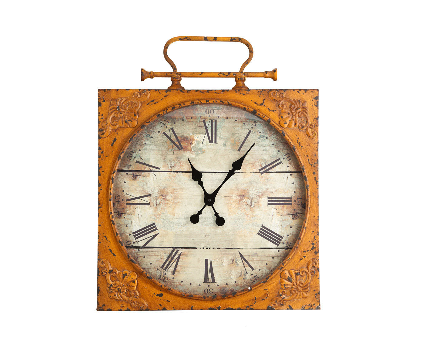 Часы настенныеНастенные часы<br>Часы с кварцевым механизмом.<br><br>Material: Металл<br>Width см: 54<br>Depth см: 6<br>Height см: 70
