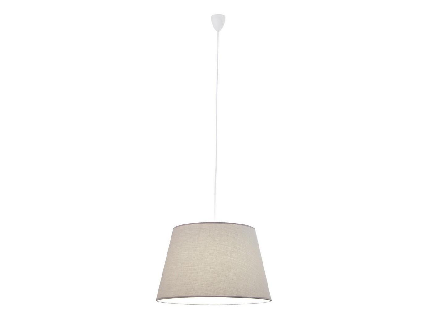 Люстра ElegantПодвесные светильники<br>Люстра &amp;quot;Elegant&amp;quot; станет прекрасным стилистическим дополнением современного интерьера, создаст атмосферу уюта и комфорта. <br>Кабель данной лампы выполнен из окрашенного металла. Абажур сделан из 100% хлопка.&amp;amp;nbsp;&amp;lt;br&amp;gt;&amp;lt;br&amp;gt;&amp;lt;div&amp;gt;Вид цоколя: Е27&amp;lt;/div&amp;gt;&amp;lt;div&amp;gt;Мощность лампы: 60W&amp;lt;/div&amp;gt;&amp;lt;div&amp;gt;Количество ламп: 1&amp;lt;/div&amp;gt;&amp;lt;div&amp;gt;Наличие ламп: нет&amp;lt;/div&amp;gt;<br><br>Material: Металл<br>Height см: 28<br>Diameter см: 45