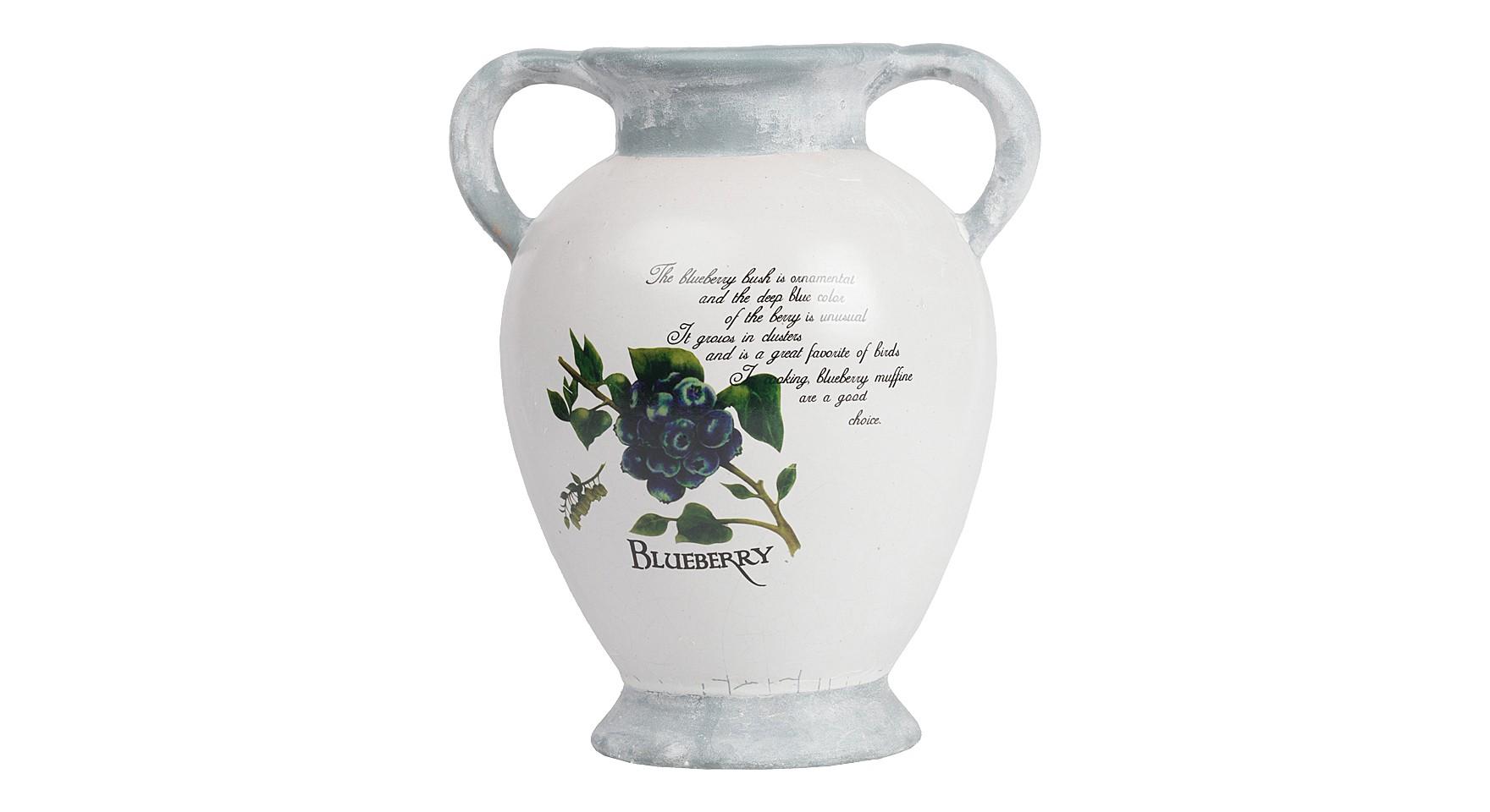 Декоративная ваза TessaВазы<br>Главное украшение любого дома — это цветы, правильно и удачно расставленные по комнатам. Декоративная ваза Tessa поможет создать уют и неповторимую обстановку, оформить интерьер со вкусом и освежить его. Несмотря на свою небольшую высоту, ваза является достаточно вместительной, поэтому вы смело сможете поставить в нее как букетик полевых цветов, так и роскошные розы из магазина.<br><br>Material: Керамика<br>Width см: 21<br>Depth см: 17,5<br>Height см: 26