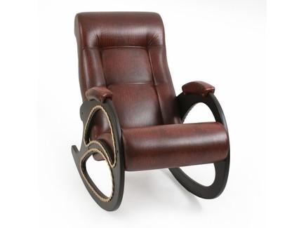 Кресло-качалка кожаное