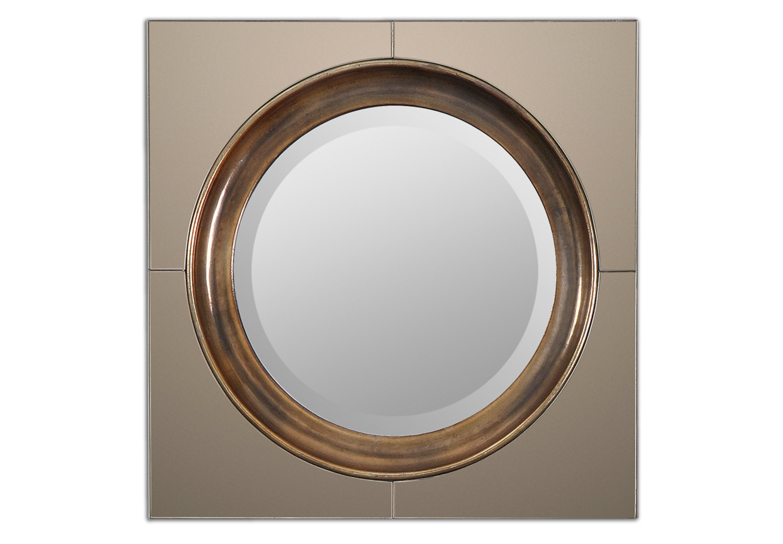 ЗеркалоНастенные зеркала<br><br><br>Material: Стекло<br>Ширина см: 51<br>Высота см: 51<br>Глубина см: 5