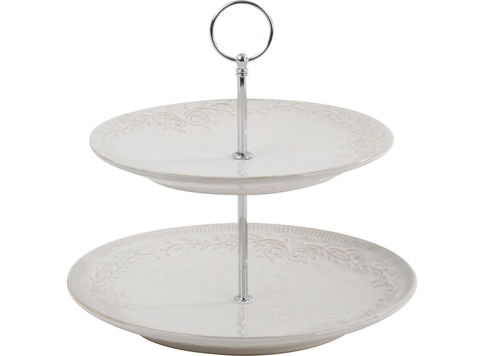 Этажерка для десертов LaiguegliaДекоративные блюда<br><br><br>Material: Фарфор<br>Height см: 25<br>Diameter см: 23