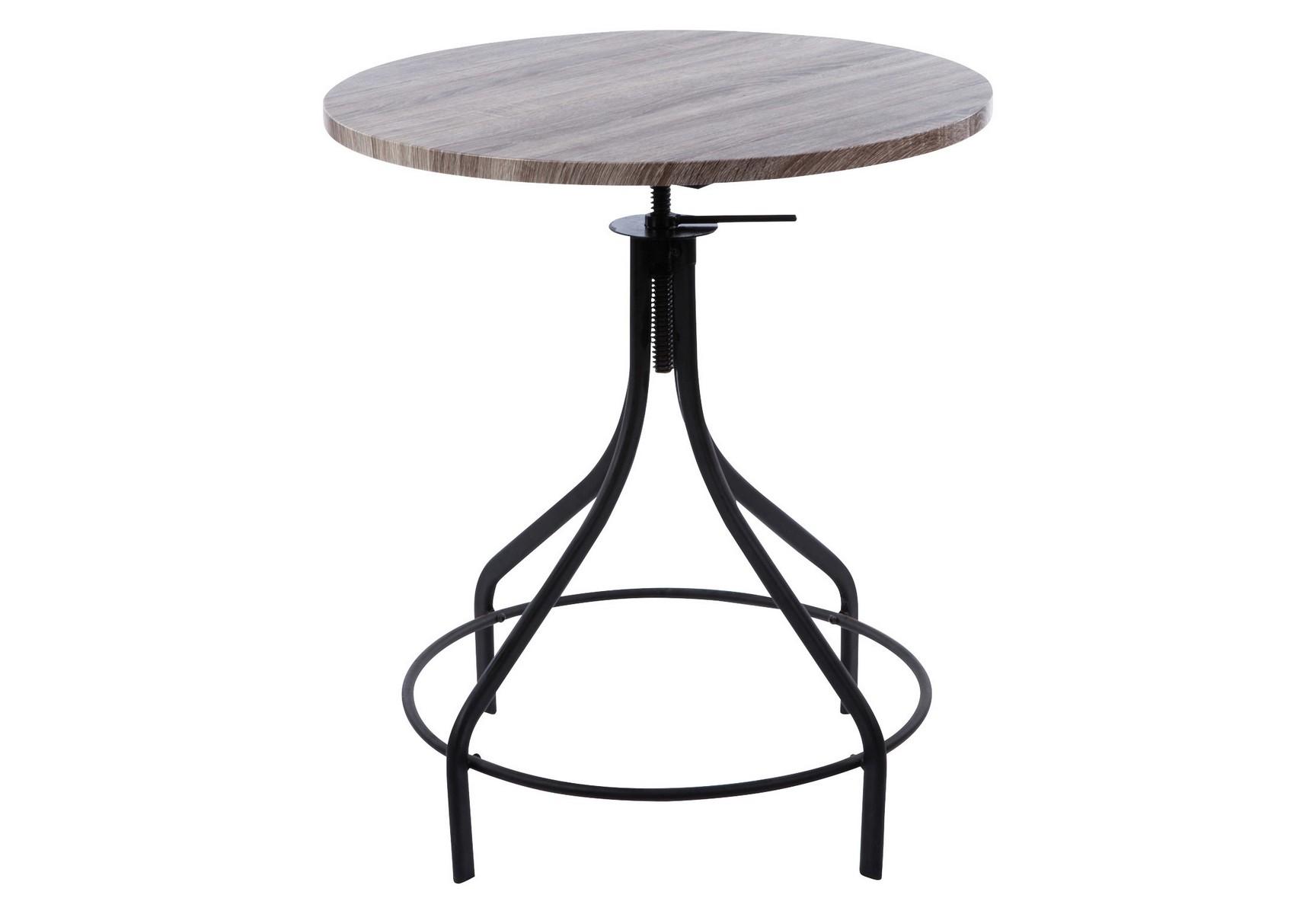 Стол Vicenza PieroВинные, коктейльные столики<br>Стол <br>материал: массив ясеня, металл <br>цвет: коричневый<br><br>Material: Металл