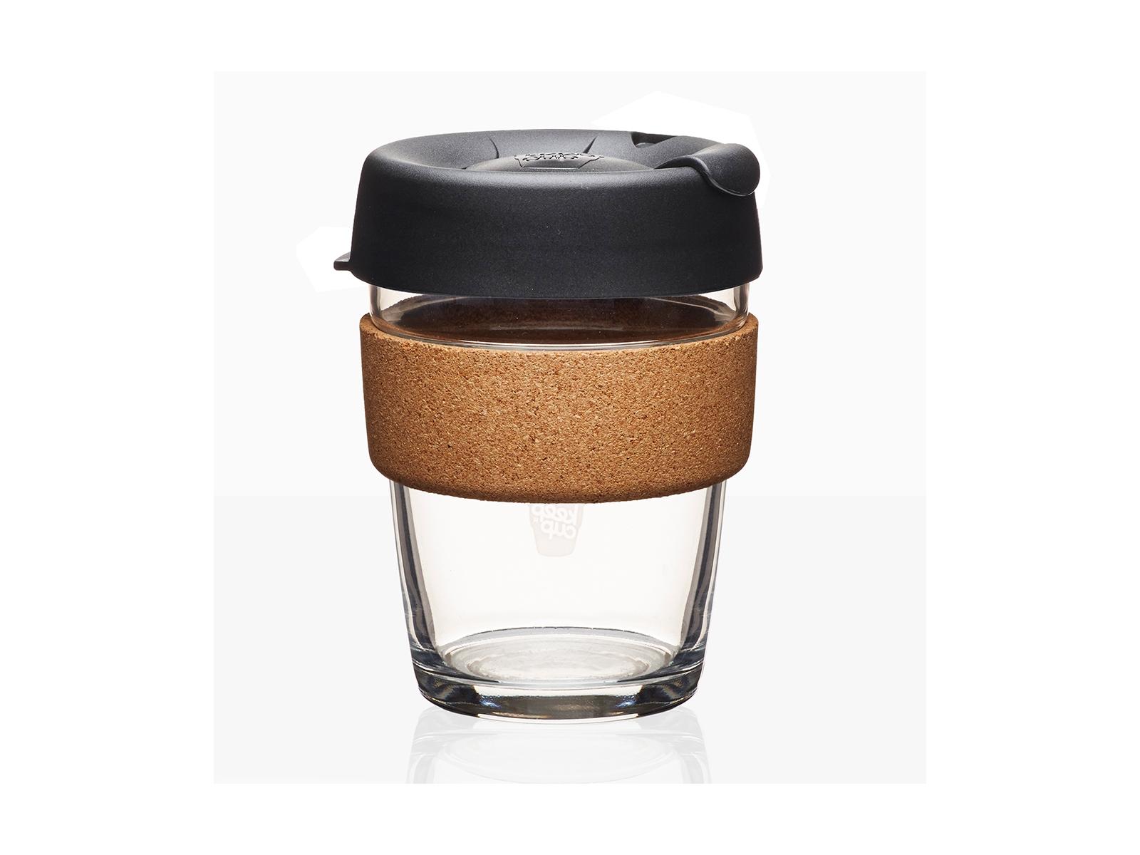 Кружка Keepcup espresso limitedЧайные пары, чашки и кружки<br>Кружка, созданная с мыслями о вас и о планете. Главная идея KeepCup – вдохновить любителей кофе отказаться от использования одноразовых бумажных и пластиковых стаканов, так как их производство и утилизация наносят вред окружающей среде. В год производится и выбрасывается около 500 миллиардов одноразовых стаканчиков, а ведь планета у нас всего одна! <br>Но главный плюс кружки  – привлекательный и яркий дизайн, который станет отражением вашего личного стиля. Берите ее в кафе или наливайте кофе, чай, сок дома, чтобы взять с собой - пить вкусные напитки на ходу, на работе или на пикнике. Специальная крышка с открывающимся и закрывающимся клапаном спасет от брызг, ободок из пробкового дерева (ограниченная серия) поможет не обжечься, плюс удобно держать кружку в руках, а плотная крышка и толстые стенки сохранят напиток теплым в течение 20-30 минут. <br>Крышка сделана из нетоксичного пластика без содержания вредного бисфенола (BPA-free) и прочного стекла. Можно использовать в микроволновой печи и мыть в посудомоечной машине.&amp;amp;nbsp;&amp;lt;div&amp;gt;&amp;lt;br&amp;gt;&amp;lt;/div&amp;gt;&amp;lt;div&amp;gt;Объем:&amp;amp;nbsp;340 мл.&amp;lt;/div&amp;gt;<br><br>Material: Стекло<br>Height см: 12,5<br>Diameter см: 8