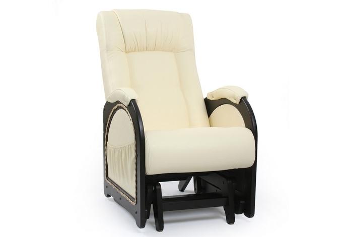 Кресло-гляйдер с карманамиКресла-качалки<br>Максимальная нагрузка: 120 кг.<br><br>Material: Кожа<br>Width см: 60<br>Depth см: 93<br>Height см: 98