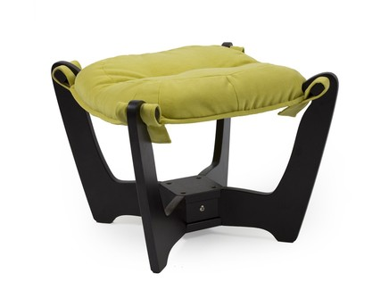 Пуфик для кресла (coolline) зеленый 53x45x53 см.